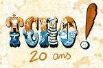 Les éditions Glénat au Lyon BD Festival avec l'expo Tcho ! 20 ans
