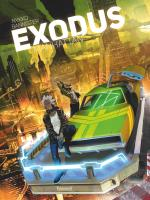 Blade Runner mâtiné de Cinquième élément, une esthétique sobre et sombre. Exodus Manhattan 1