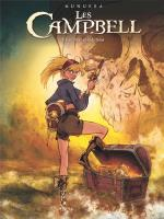 Une femme, deux hommes, trois infortunes. Les Campbell 5 – Les trois malédictions.