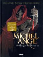 Michel Ange, le banquet des damnés de BD : le slasher post-médiéval trouve sa fin entre les têtes coupées et grâce à un pévôt Vittore sur les genoux