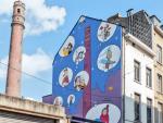 Une fresque BD consacrée à Zidrou à Bruxelles
