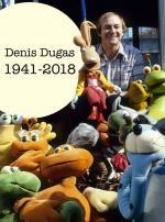 Décès de Denis Dugas, le créateur de nombreuses marionettes ayant égayés notre enfance.