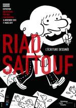 Exposition Riad Sattouf, l'écriture dessinée au Bpi