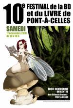 Le festival BD et du livre de Pont-à-Celles fête sa 10eme édition