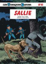 Quatre pattes pour un bleu, le meilleur ami de l'homme.  Les Tuniques Bleues 62– Sallie.