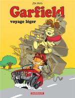 Au Garfield des jours…  Garfield 67 – Garfield voyage léger.