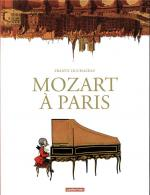 Little Mozart in Parisland, une partition française. Mozart à Paris.