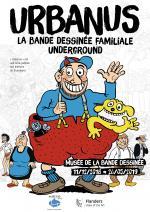 Urbanus, La bande dessinée familiale underground au Musée de la Bande Dessinée