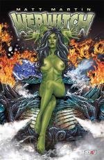Webwitch, un  bande dessinée d'érotic fantasy par Matt Martin