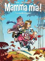 Femmes au bord de la crise de rire.  Mamma Mia 1 - La famille à dames