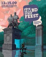 Fête de la BD Parc de Bruxelles 13-15 septembre 2019.
