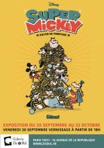 Exposition de Pieter de Poortere pour la sortie de Super Mickey