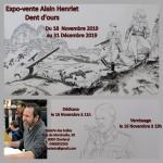 Expo-vente Alain Henriet à la Galerie des Bulles