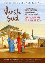 Exposition d'œuvres originales. Joël Alessandra : Vers le Sud