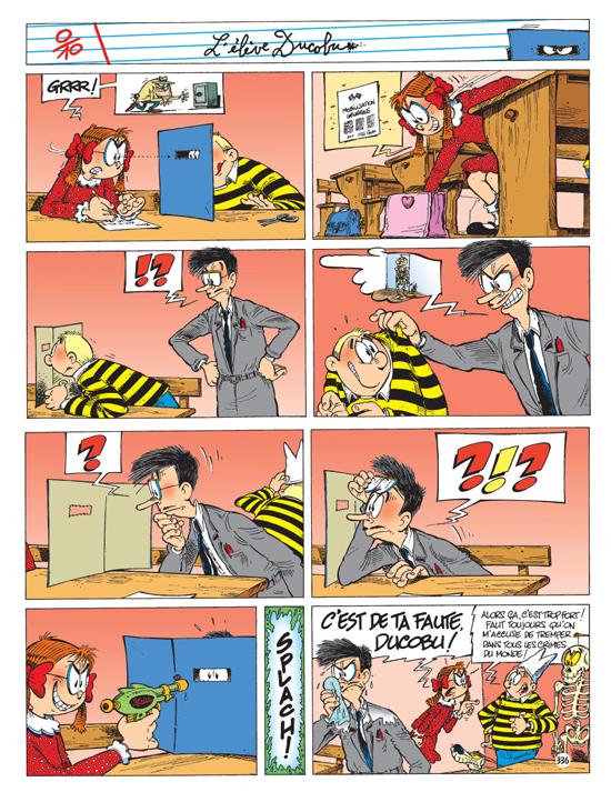 bande dessinee ducobu