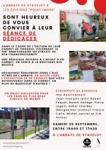 100e anniversaire du circuit Spa- Francorchamps     Séance dédicaces  Édition Point Image