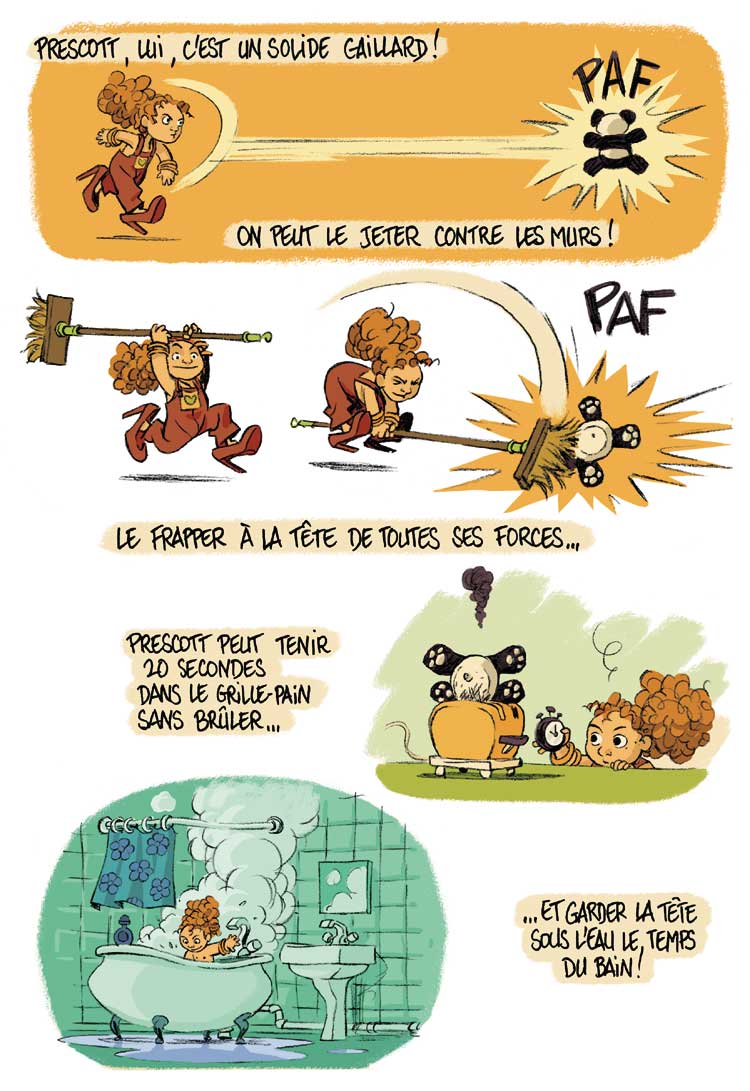 Extrait 2 Je suis pas petite!!! (tome one-shot)