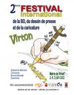 FESTIVAL INTERNATIONAL de la BD , du DESSIN DE PRESSE et de la CARICATURE de VIRTON.