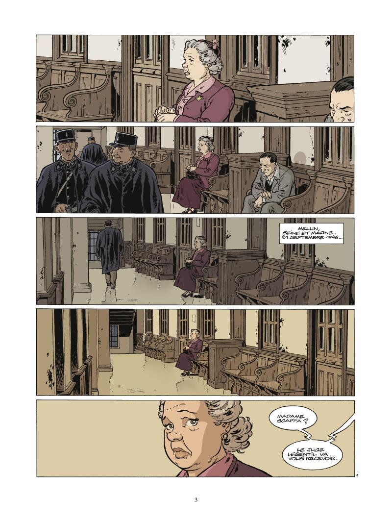 Extrait 1 Il était une fois en France (tome 5)  - Le petit juge de Melun
