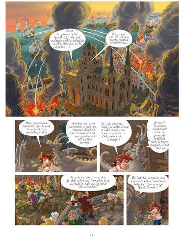 Extrait 2 Gargouilles (tome 7)  - La Dernière Porte
