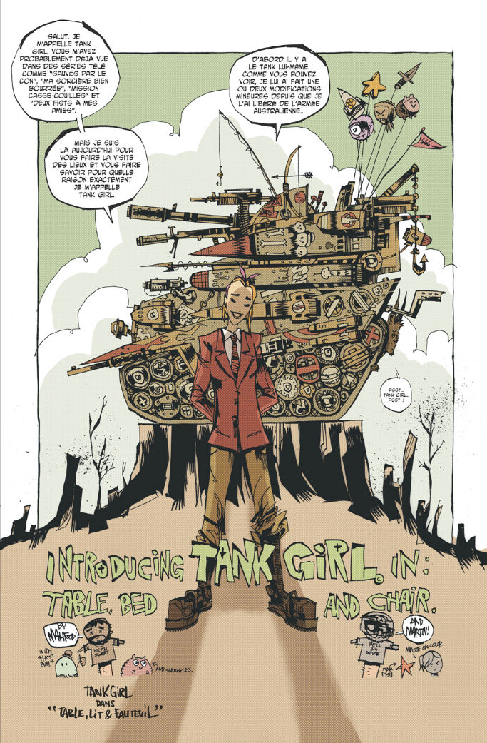 Extrait 1 Tank Girl - everybody loves Tank girl