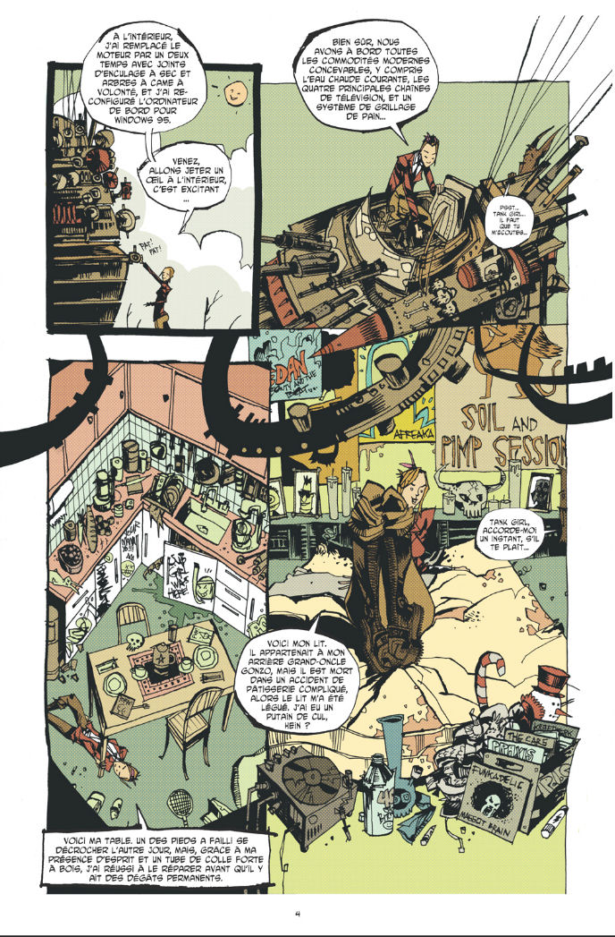 Extrait 2 Tank Girl - everybody loves Tank girl