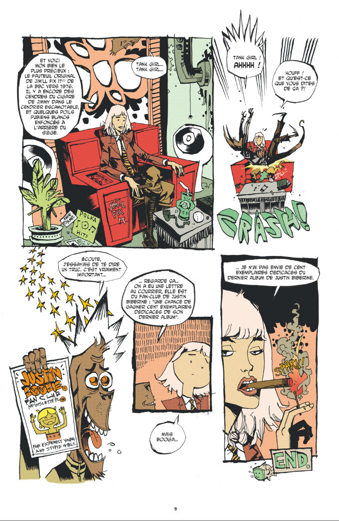 Extrait 3 Tank Girl - everybody loves Tank girl