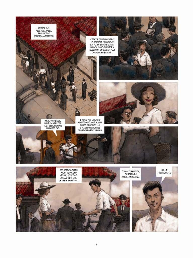 Extrait 1 Eden Hôtel (tome 1)  - Ernesto
