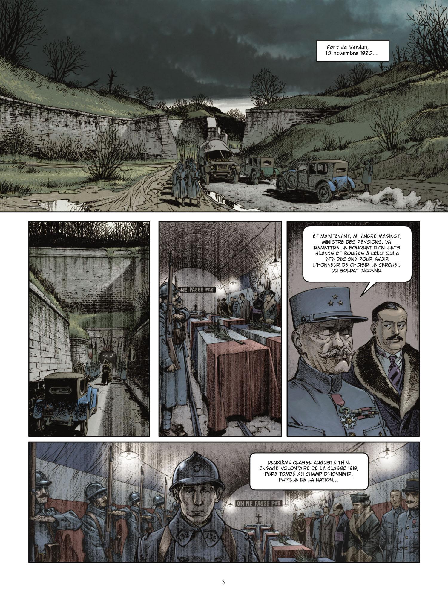 Extrait 1 L'homme de l'année (tome 1)  - 1917
