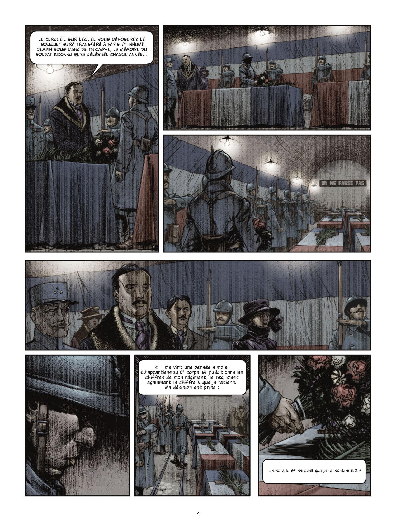 Extrait 2 L'homme de l'année (tome 1)  - 1917