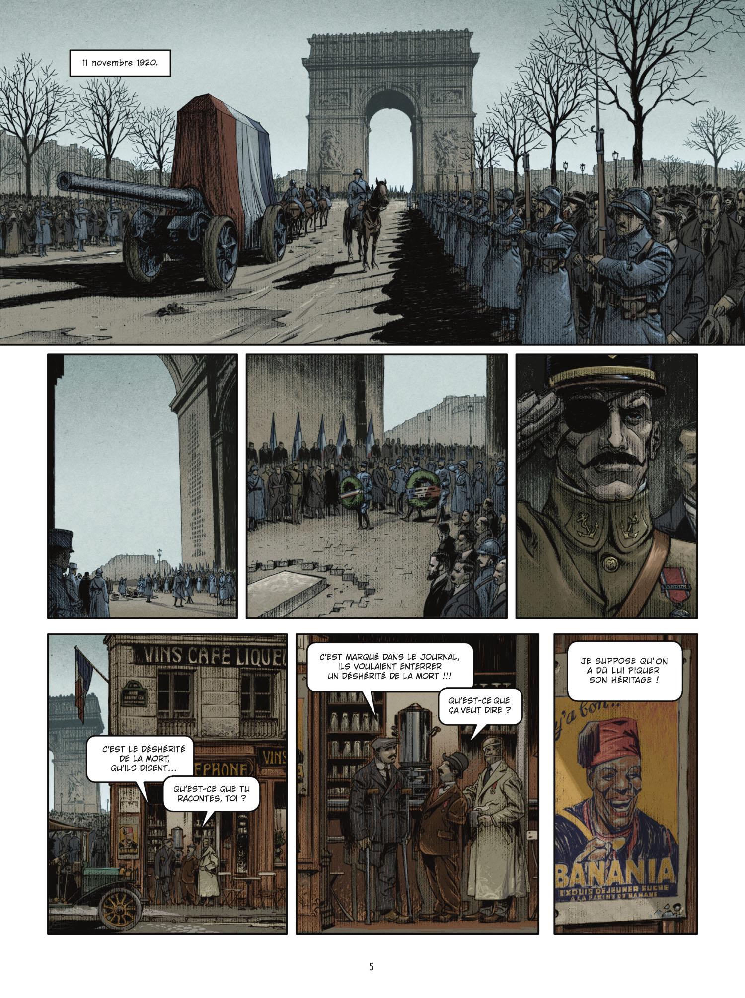 Extrait 3 L'homme de l'année (tome 1)  - 1917