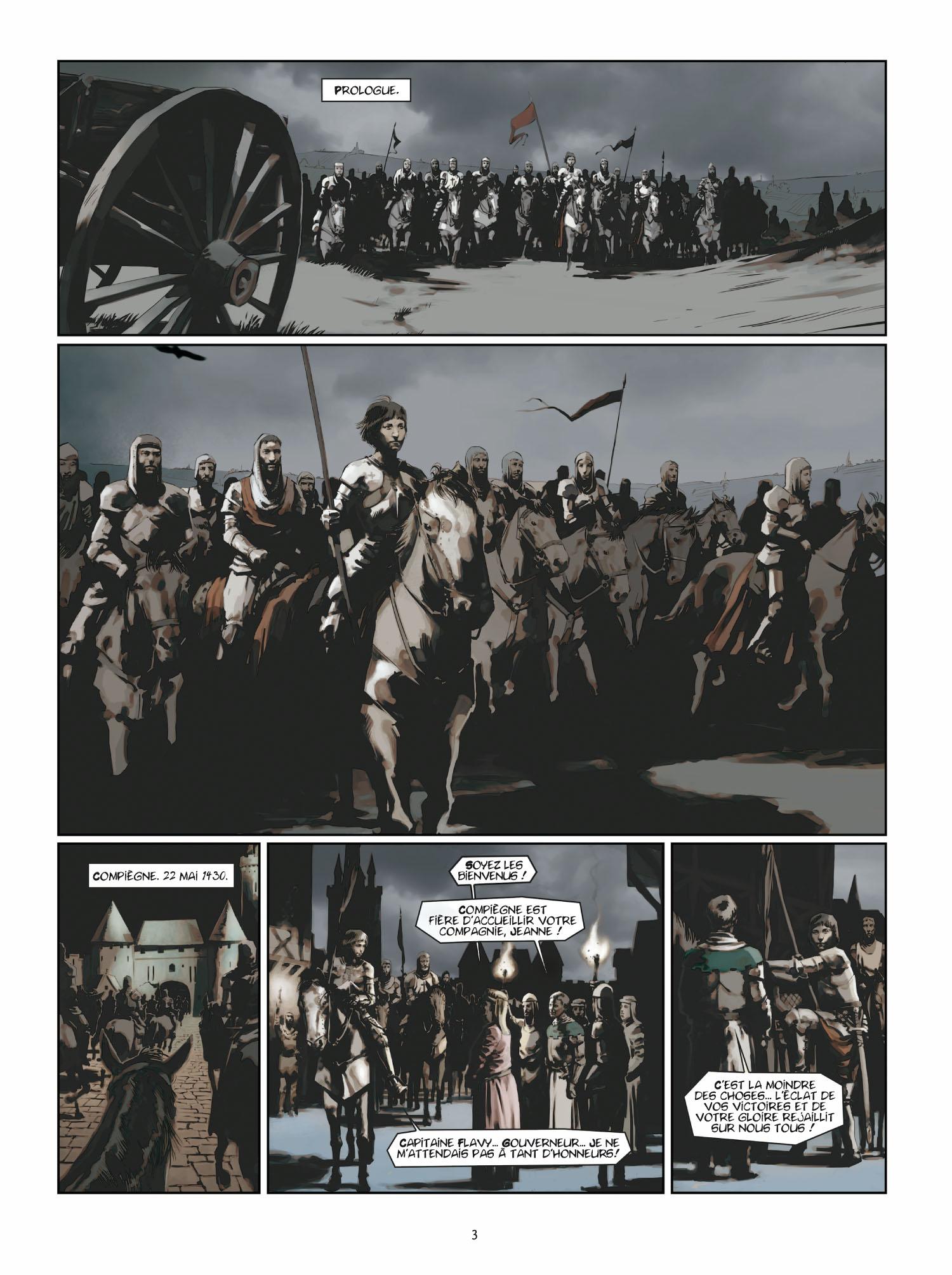 Extrait 1 L'homme de l'année (tome 2)  - 1431 L'homme qui trahit Jeanne d'Arc