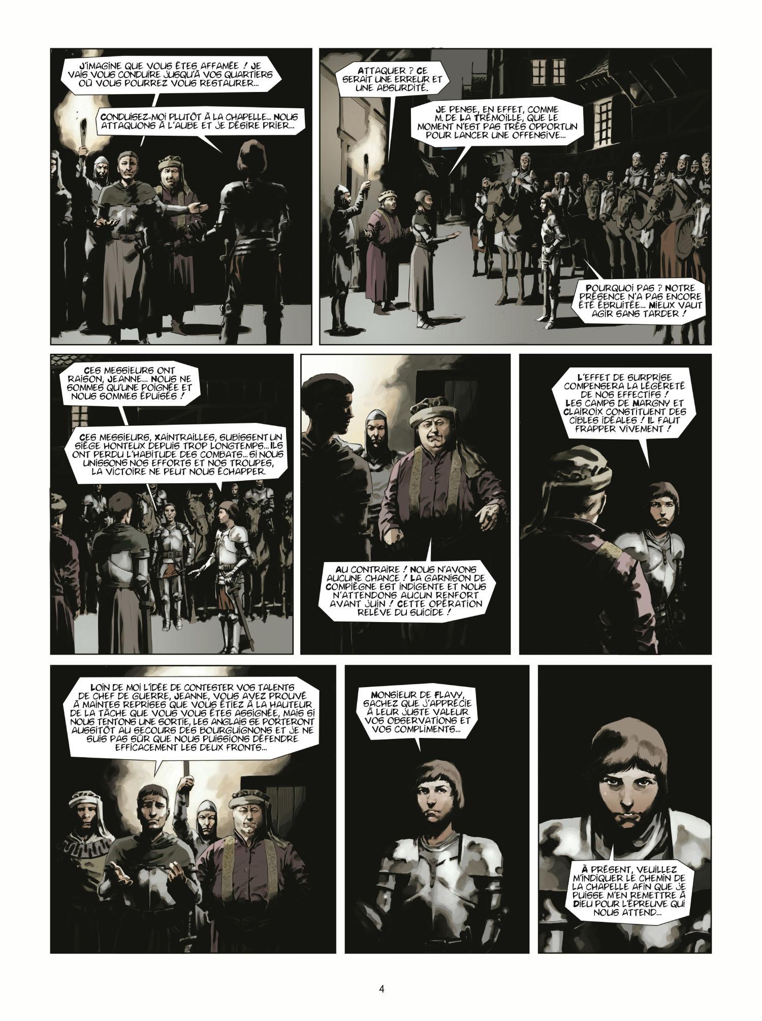 Extrait 2 L'homme de l'année (tome 2)  - 1431 L'homme qui trahit Jeanne d'Arc