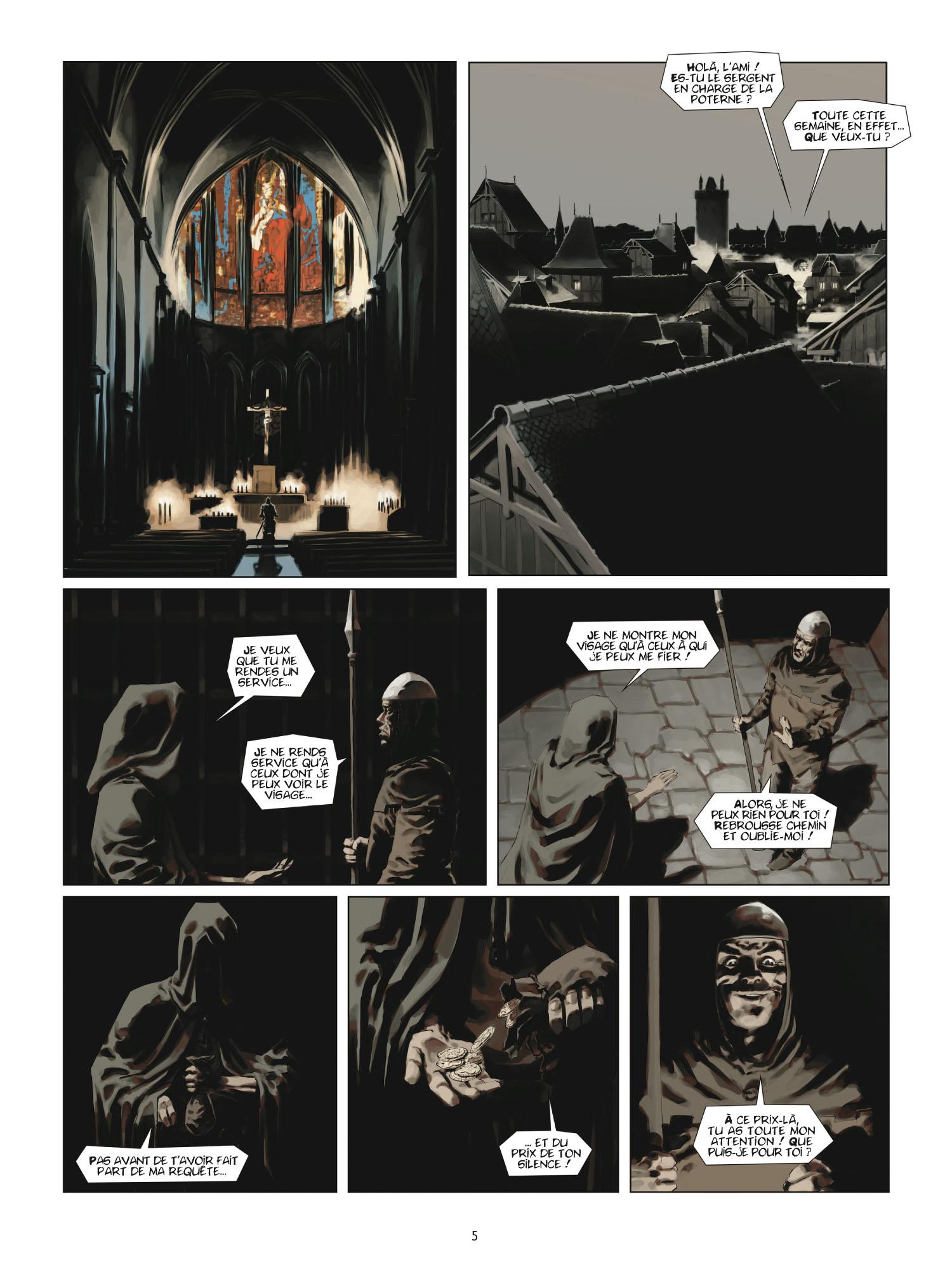 Extrait 3 L'homme de l'année (tome 2)  - 1431 L'homme qui trahit Jeanne d'Arc