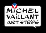 Les Michel Vaillant Art Strips s'exposent à Biarritz