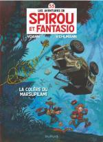 Spirou et Fantasio tirent le diable de Palombie par la queue et ça déménage, houba!