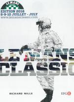 Exposition Michel Vaillant au Mans Classic.