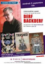 Rencontre avec Derf Backderf � la M�diath�que Marguerite Yourcenar