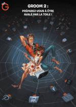 Pour son 2ème acte: Groom met la bd du savoir sur orbite et sur les réseaux sociaux