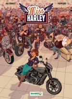 Bottes en avant et blouson de cuir, faites place et poussez pas, Miss Harley arrive