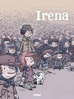 Irena tome 1 Le Ghetto, Le parti pris graphique est percutant