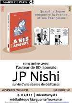 Rencontre à Paris avec le mangaka J.-P. Nishi