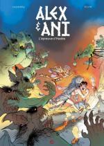 Alex et Ani : la mythologie revue et corrigée en culottes courtes par Legendre et Silvio