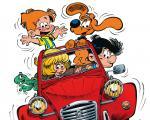 Boule et Bill Du chemin de l'école à la route des vacances, une expo BD à l'Abbaye de Caunes Minervois