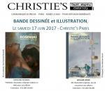 Christie's Paris, Vente aux enchères de Bande Dessinée & Illustration