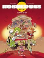 Robbedoes, Happy Family tome 1, un road trip de Spirou en néérlandais par Cambré et Legendre