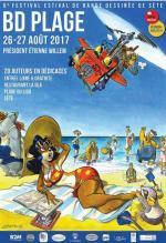 Etienne Willem président d'honneur du festival BD de Sete 2017