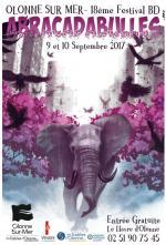 18ème édition du festival Abracadabulles BD d'Olonnes sur le thème du règne animal
