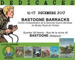 Olivier Weinberg en dédicace au Bastogne Barracks pour les reportages de Lefranc