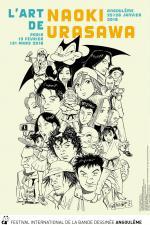 Japonisme 2018, le manga à l'honneur à Angoulême en 2018, #2 Expo Naoki Urasawa